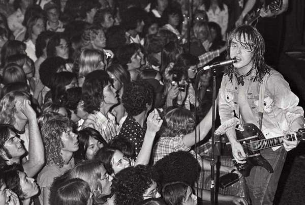 Undated photo of Rick Derringer performing at Roslyn's