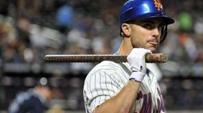 Mets third baseman David Wright waits in