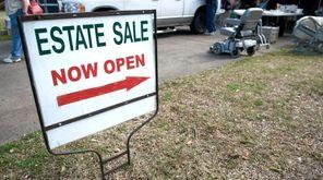 An estate sale.
