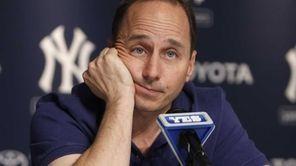 Yankees GM Brian Cashman in an undated file