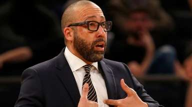 Knicks coach David Fizdale hopes he's built a