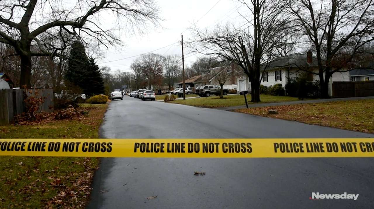 Suffolk County police said officers shot and killed