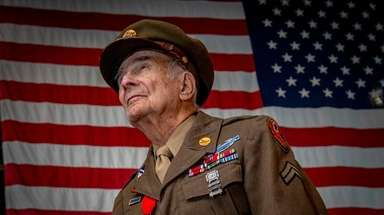 World War II veteran David Marshall of Baldwin,