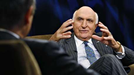 Ken Langone, Home Depot co-founder, speaks during an