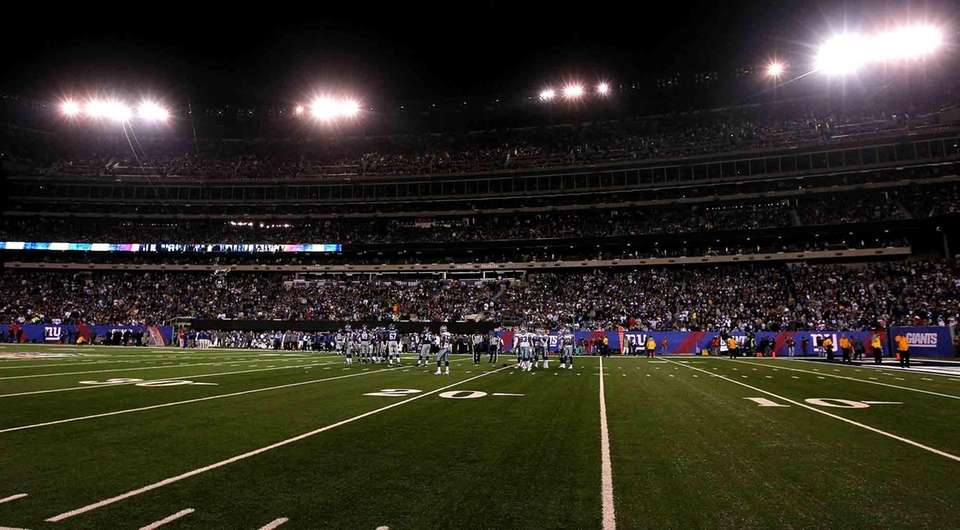 The Dallas Cowboys and the New York Giants