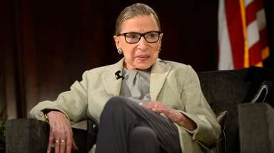 Supreme Court Justice Ruth Bader Ginsburg at the
