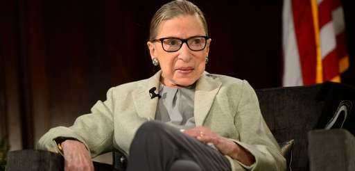 Supreme Court Justice Ruth Bader Ginsburg at the