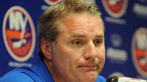 New York Islanders GM Garth Snow ponders a