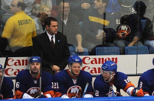 FILE- Then-New York Islanders head coach Scott Gordon