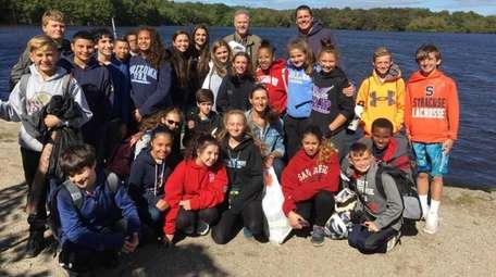 Eighth-graders from Islip Middle School recently put on