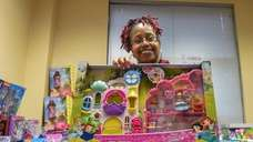 A Hauppauge law firm's annual toy giveaway on