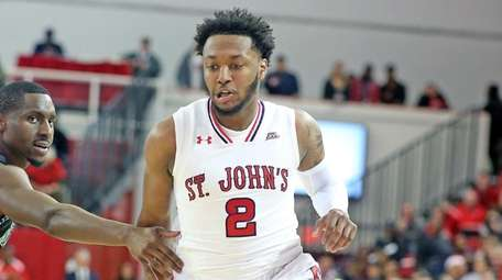 St Johns' Shamorie Ponds gets inside in game