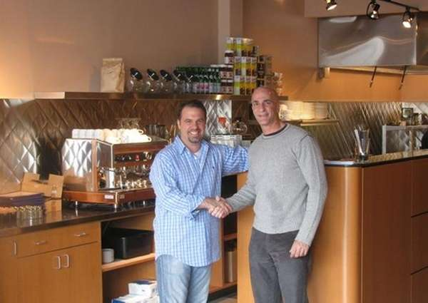 Louis Corcione, left, and Steven Guasco, owners of