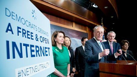 Senate Minority Leader Sen. Chuck Schumer of N.Y.,