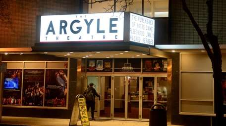 The newly renovated, historic Argyle Theatre on Main