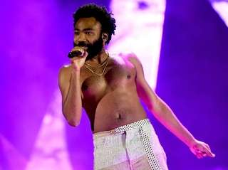 Childish Gambino performs onstage during the 2018 iHeartRadio