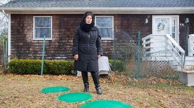 Shelter Island real estate broker Susan Cincotta spoke