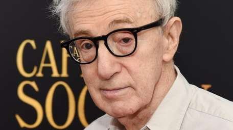 "Woody Allen attends the premiere of ""Cafe"