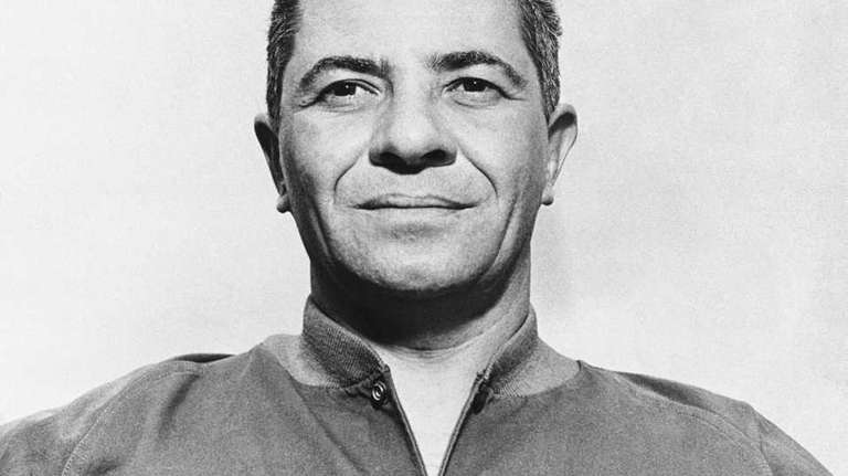 10. VINCE LOMBARDI Assistant coach, Giants, 1954-58 As
