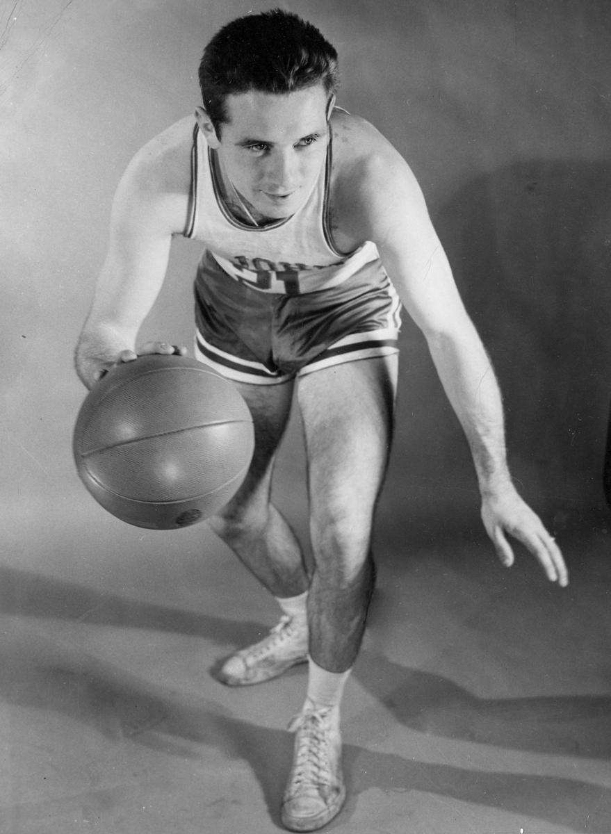 6. DICK MCGUIRE Guard, 1943-44, 1946-49 Averaged only