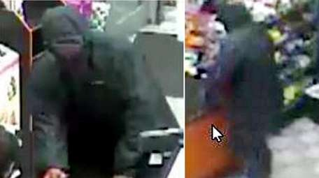 A surveillance image of the man authorities said