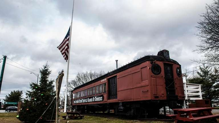 The Port Jefferson Station Chamber of Commerce train