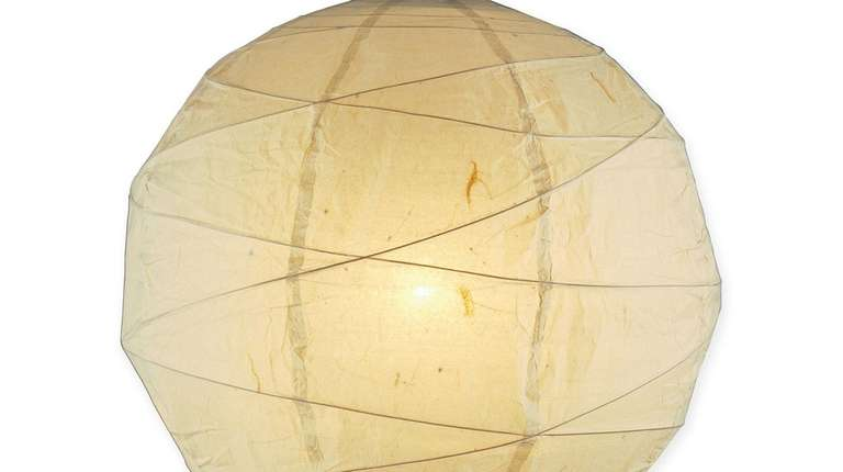 Try the Adesso Orb Pendant Light with natural