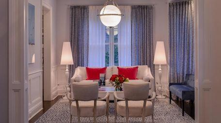 The Bridgehampton sitting room.