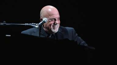 Billy Joel at his Madison Square Garden concert