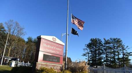 The Northport VA Medical Center, seen on Tuesday.