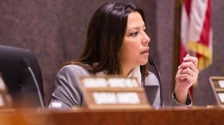 Suffolk Legis. Monica Martinez, seen March 20, said