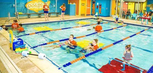 Goldfish Swim School in Farmingdale offers lessons to