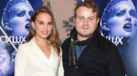 Natalie Portman and writer-director Brady Corbet at the