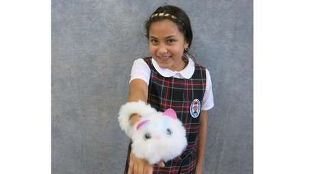 Kidsday reporter Melanie Argueta from St. Martin de