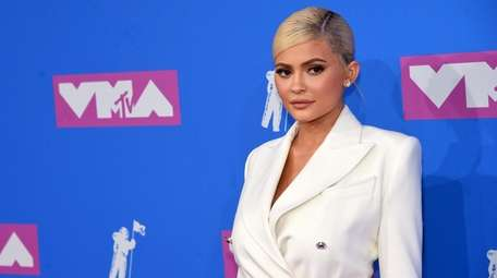 Kylie Jenner attends the 2018 MTV Video Music