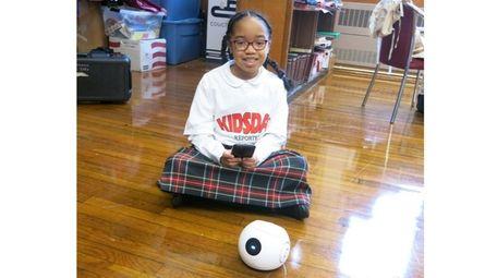 Kidsday reporter Maya Williams from St. Martin de