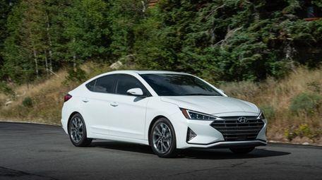 The sixth-generation Hyundai Elantra got a makeover for
