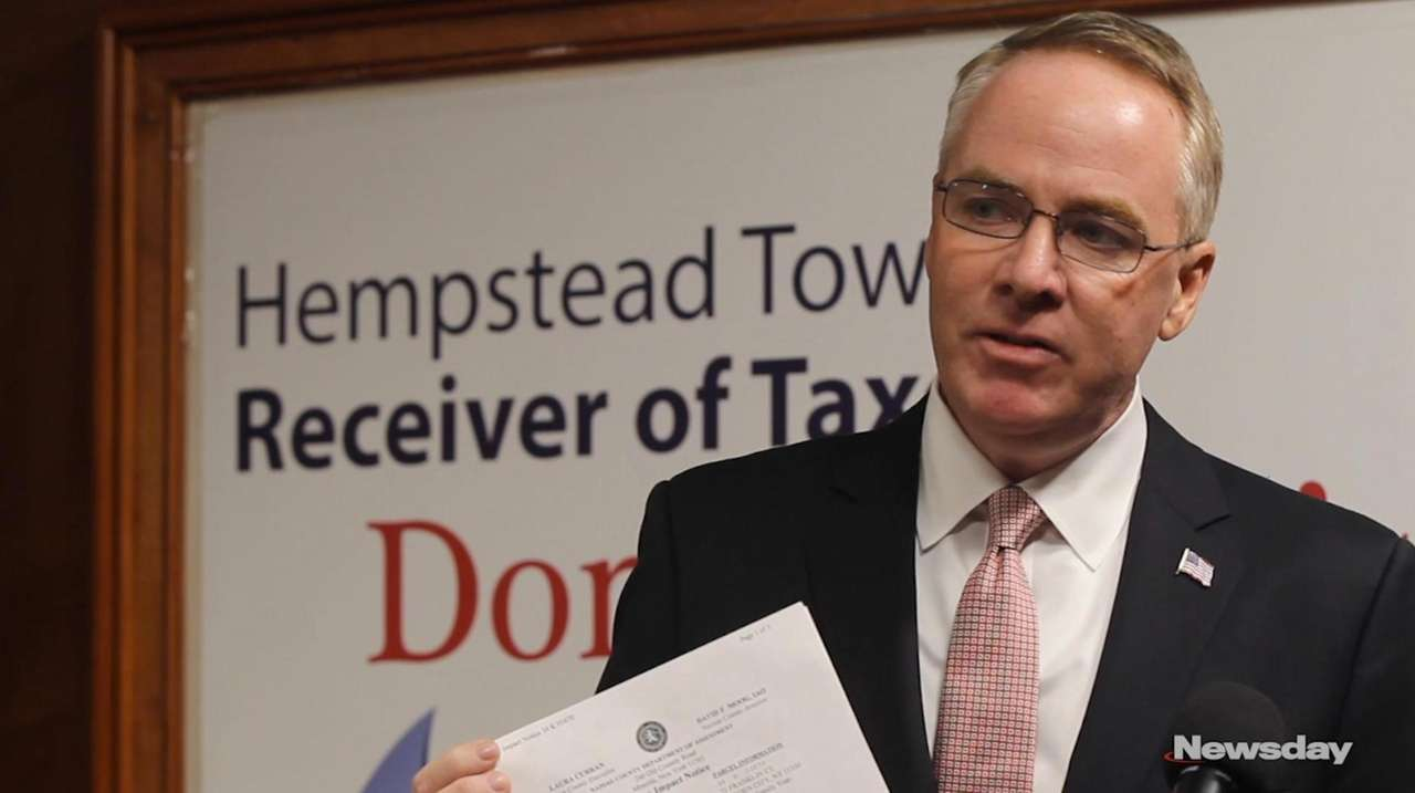 Town of Hempstead Receiver of Taxes Donald Clavin