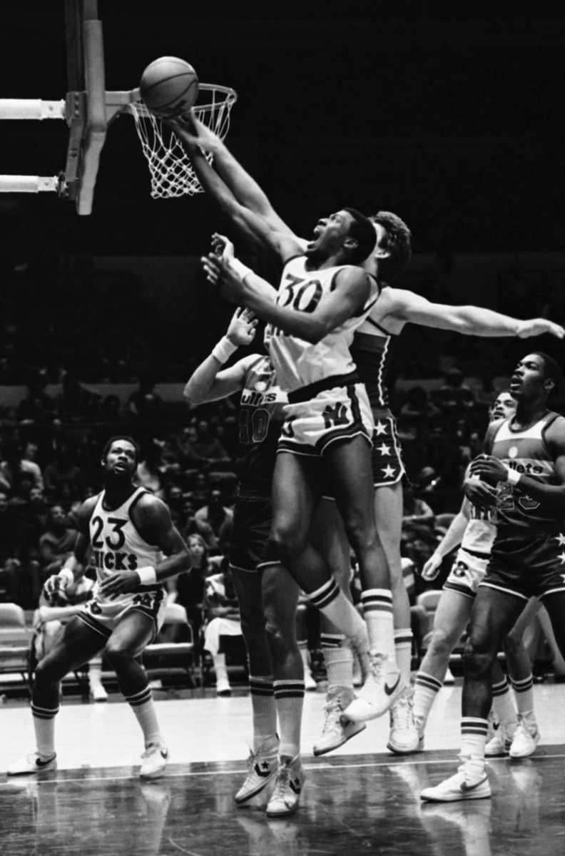 10. BERNARD KING Forward, 1977-79, 1992-93 A year