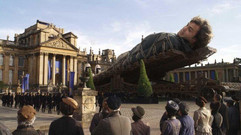 Jack Black stars as Gulliver in the movie