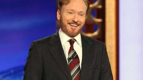Conan O'Brien, host of the new