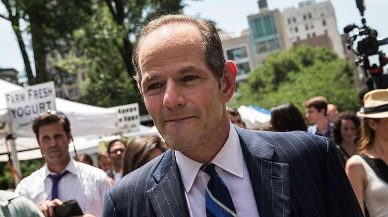 Former New York Gov. Eliot Spitzer in New
