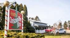 Santa's Christmas Tree Farm in Cutchogue, seen on