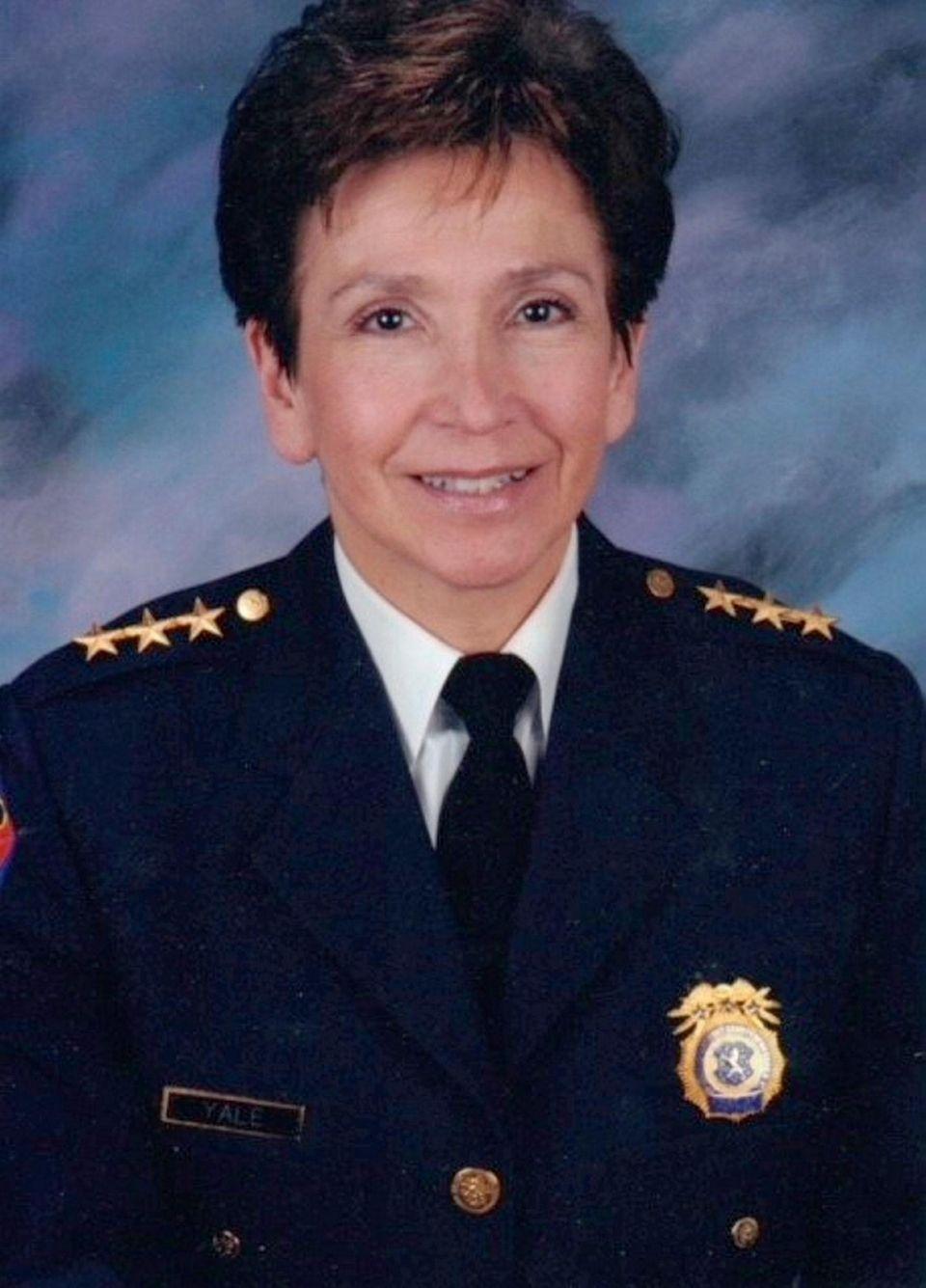 Joan P. Yale, a trailblazer in Nassau policing