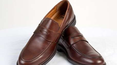 The Johnston & Murphy Hollis Penny (brown loafer)