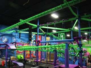 The Adventure Zone at Bounce! Trampoline Sports in