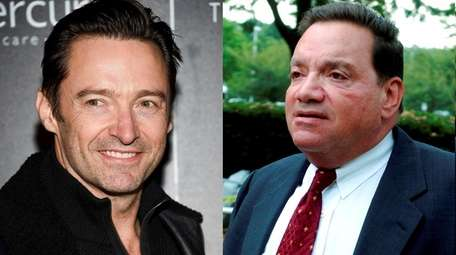Actor Hugh Jackman, left, will play former Roslyn