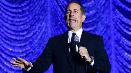 Jerry Seinfeld performs during Philly Fights Cancer: Round