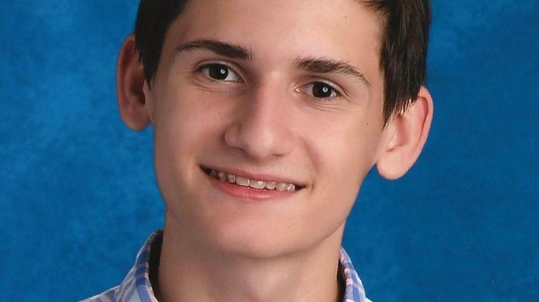 Daniel Flyer, 16, is a junior at Roslyn