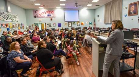 Residents at a Nov. 14 meeting of the